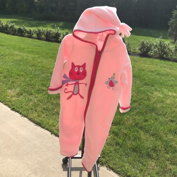 Hanna Andersson Toddler Girl Fleece Suit
